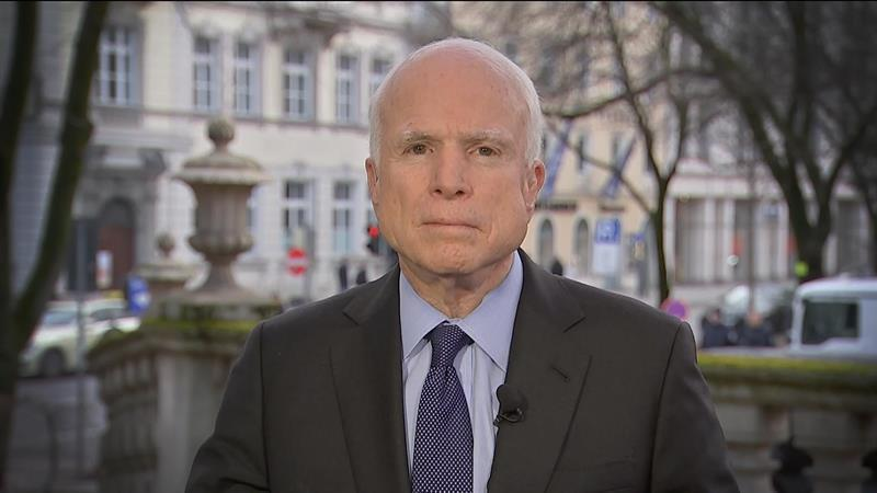 Full McCain Interview: 'I Worry About the President's Understanding' of Some Issues