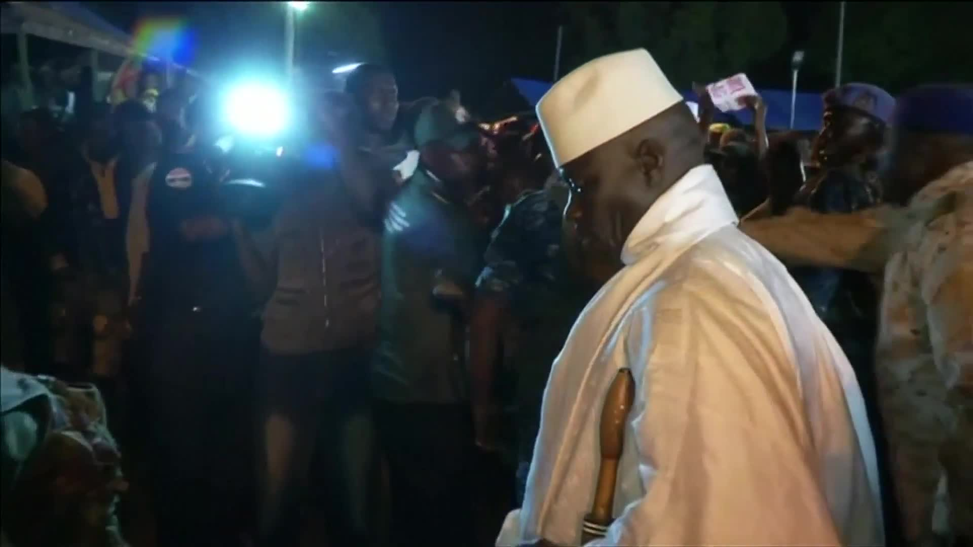 Gambia's President Adama Barrow sworn in on home soil