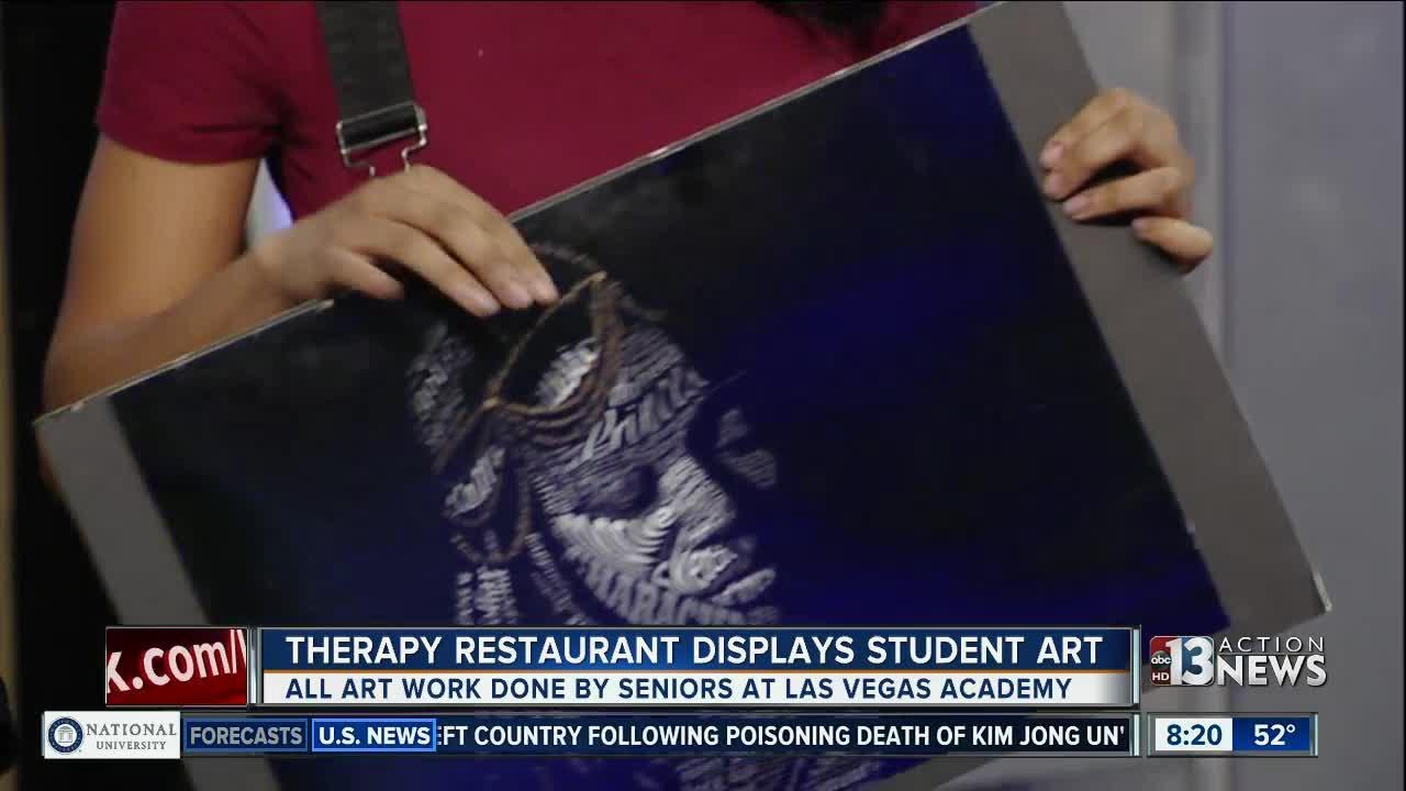 Therapy Restaurant partners with Las Vegas Academy of the Arts