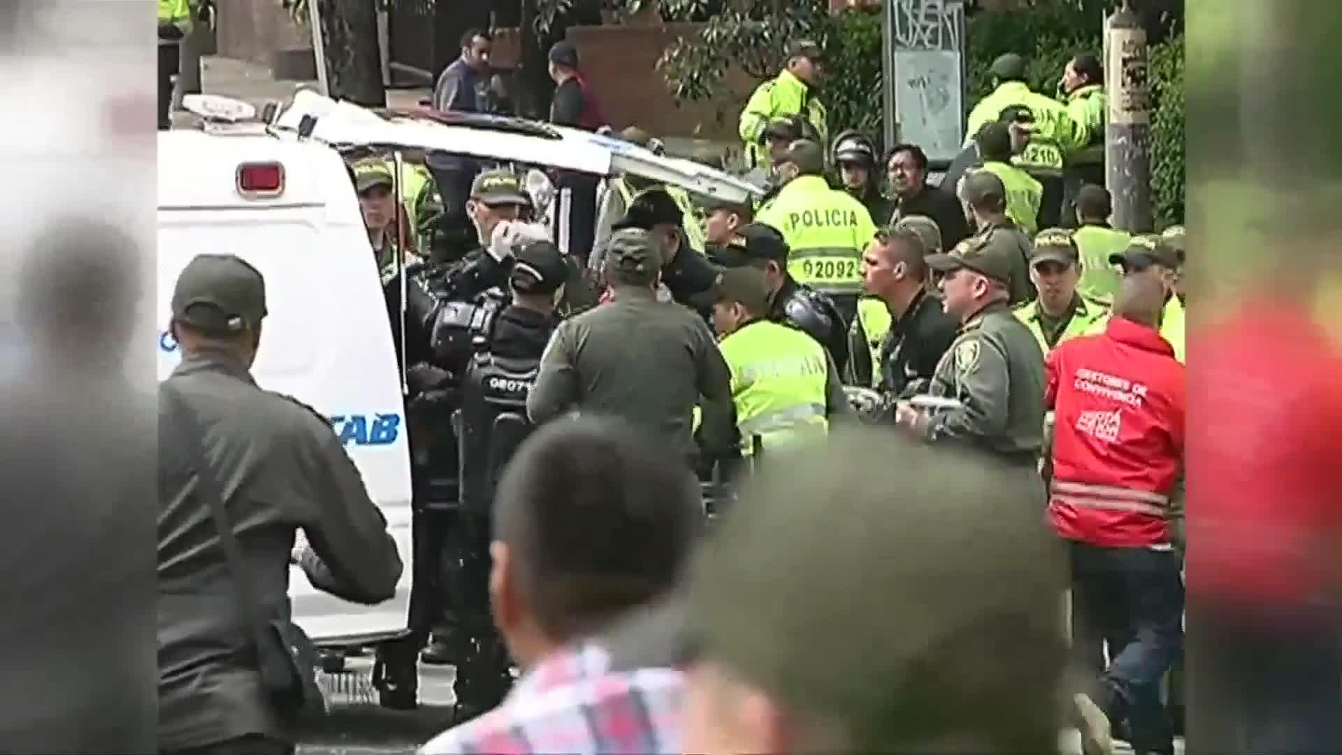 Explosion near Bogota bullring kills one, injures at least 30