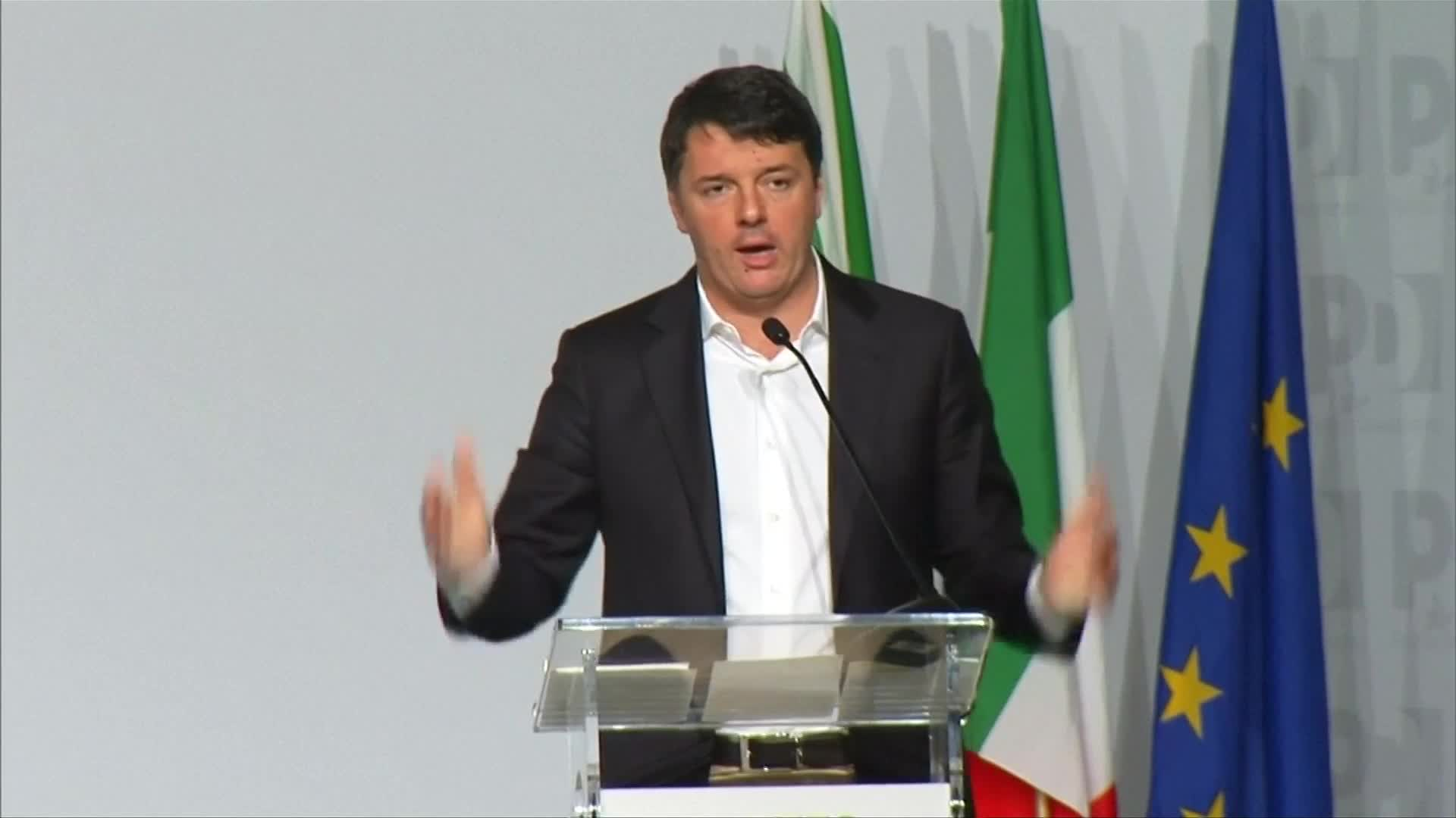Italy's Renzi quits party in bid to retake PM