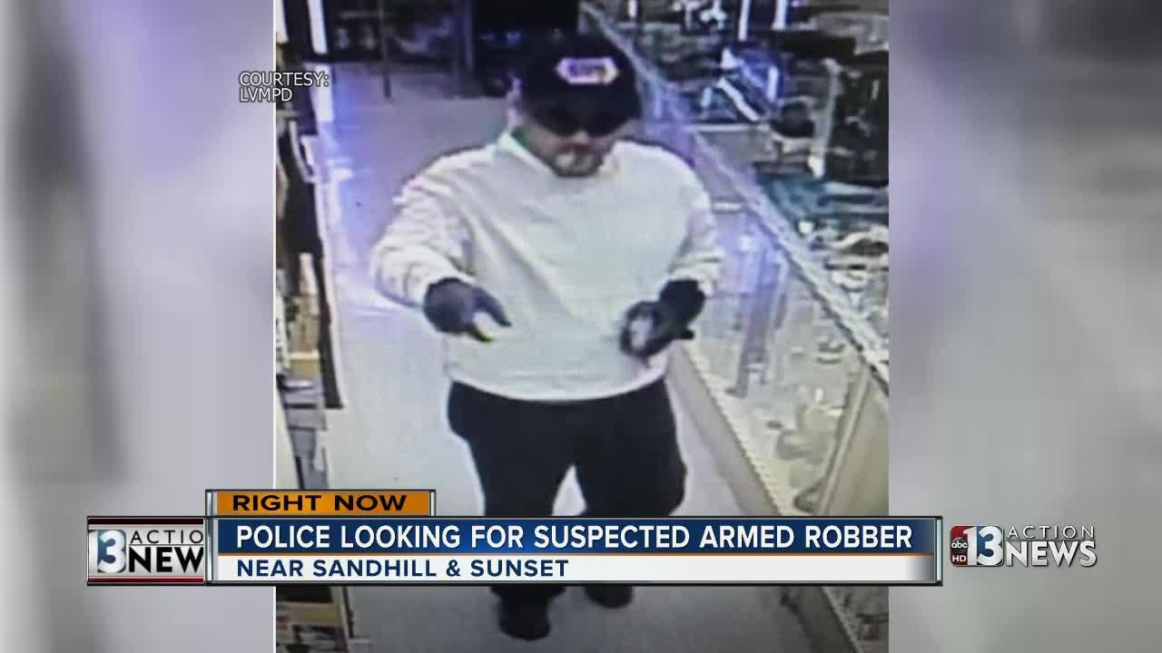 Armed suspect robs business near Sunset, Sandhill