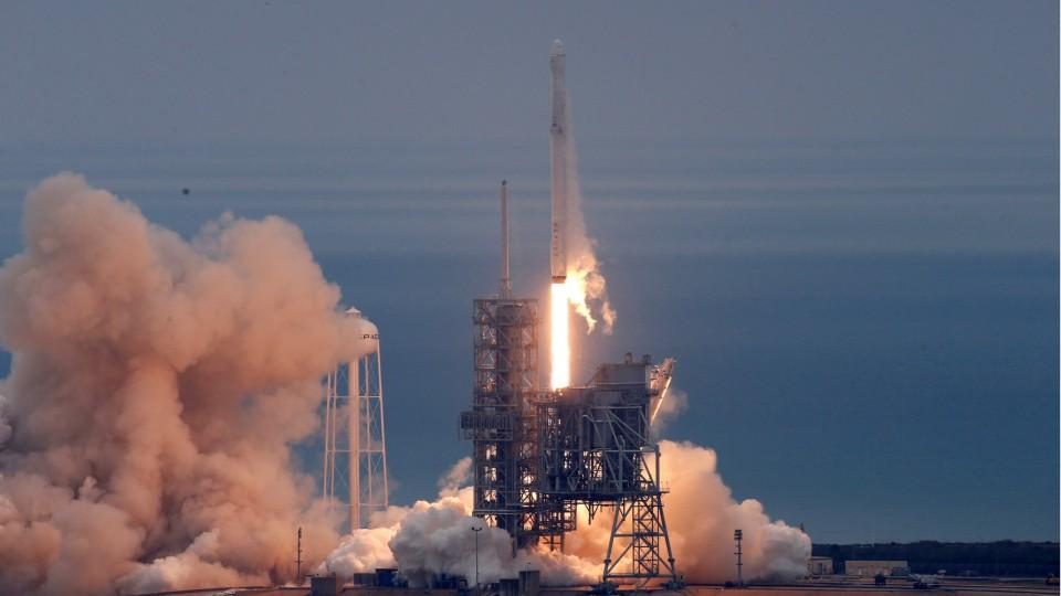 SpaceX Rocket Launched From NASA's Moon Pad