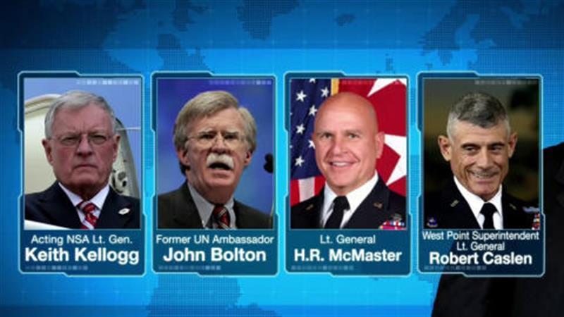 Pres. Trump Interviews Candidates for NSA as Homeland Security Draft Memos Raise Concerns