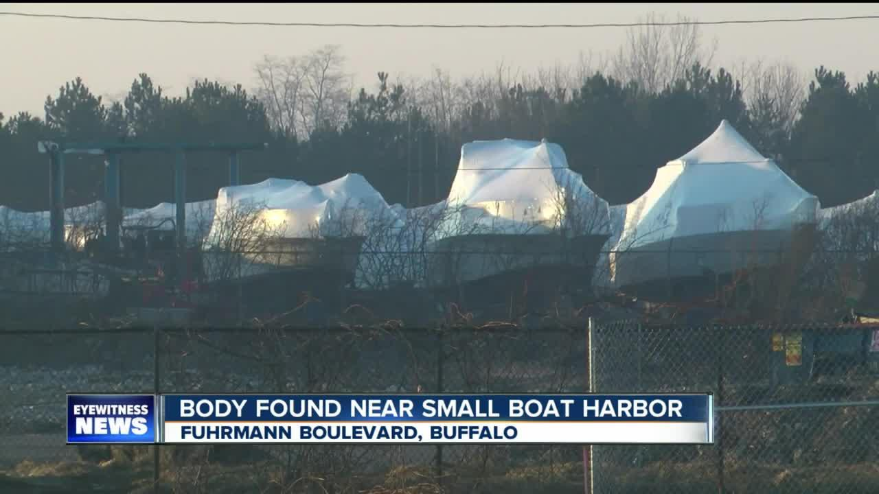 Body found near small boat harbor