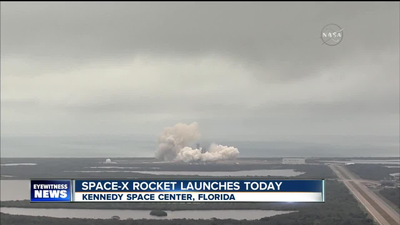 Space-X launches