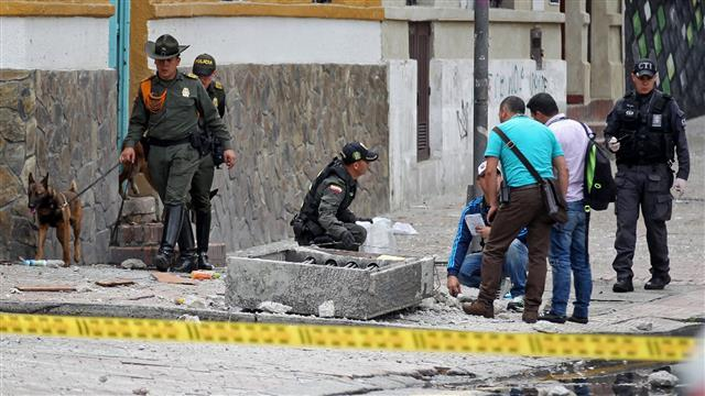 Blast Near Colombian Bullring Injures Dozens