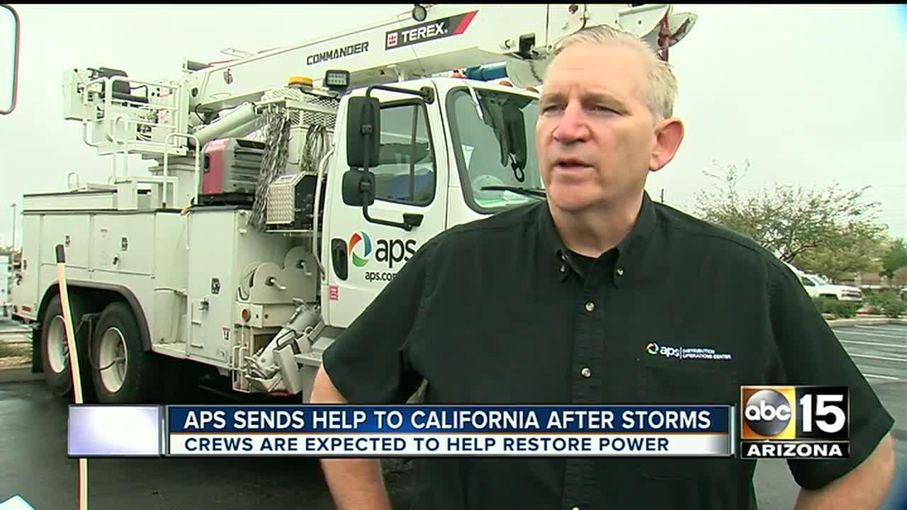 APS sends crews to California to help restore power for thousands