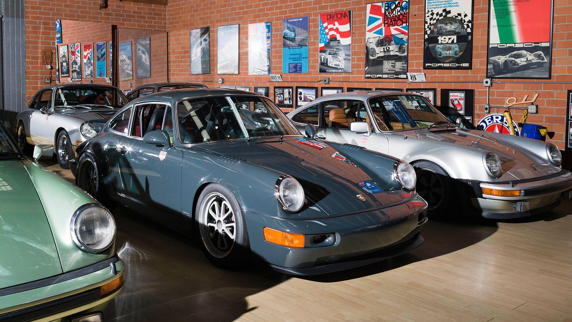 Take a 360-Video Tour of a Magnus Walker's Sweet Porsches