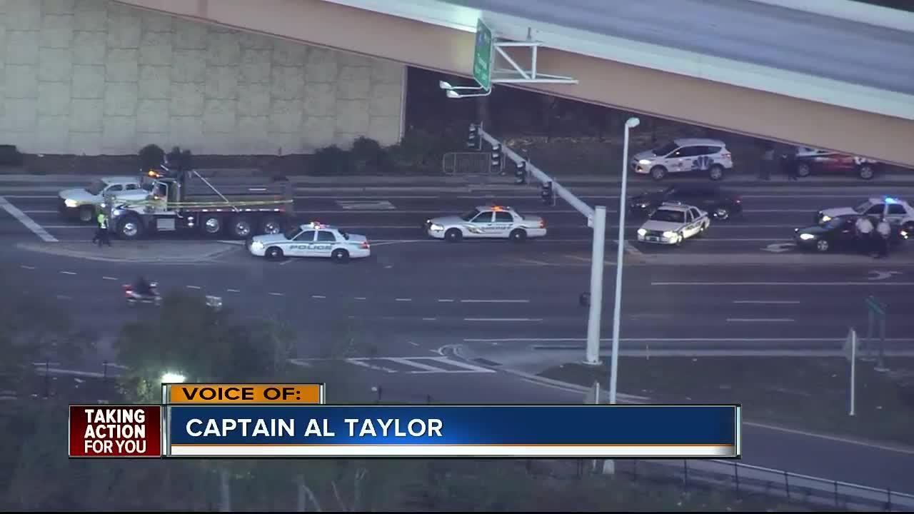 TRAFFIC ALERT | Columbus drive closed due to fatal pedestrian accident