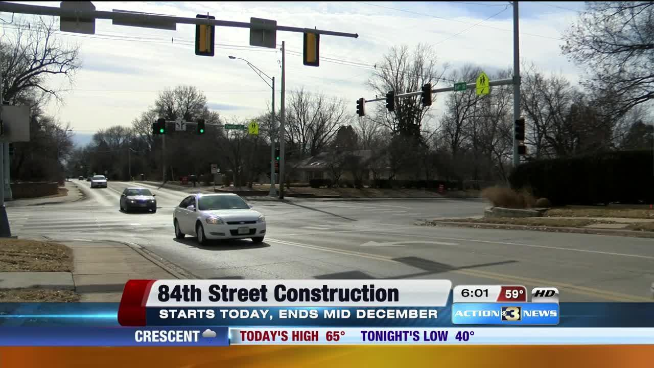 84th Street reconstruction project begins
