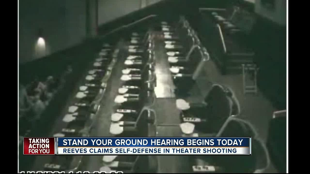 Stand your ground hearing begins Monday
