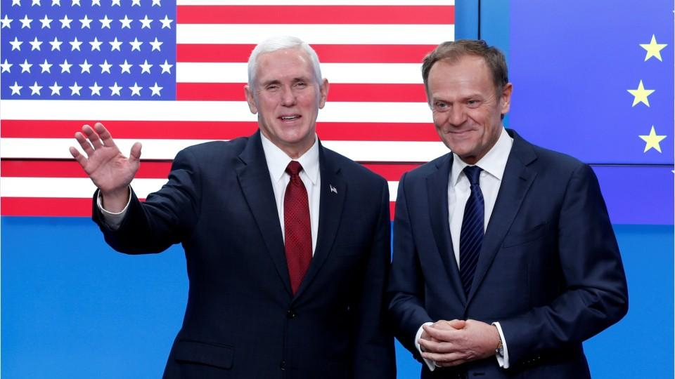 Pence Takes Over Cooling Bad Blood Between US And Europe