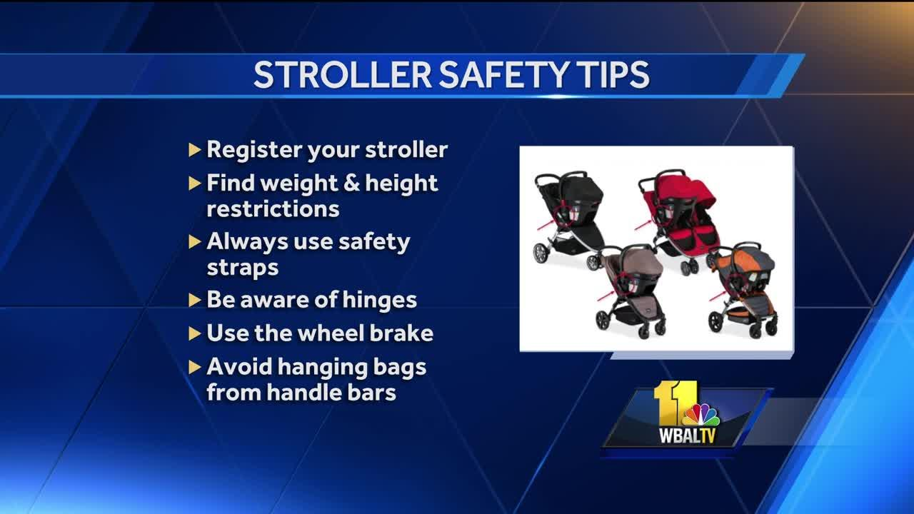 Stroller safety tips and advice
