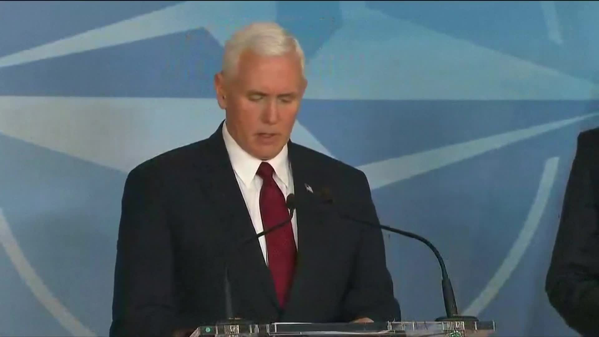 Trump wants NATO to step up defense spending: Pence
