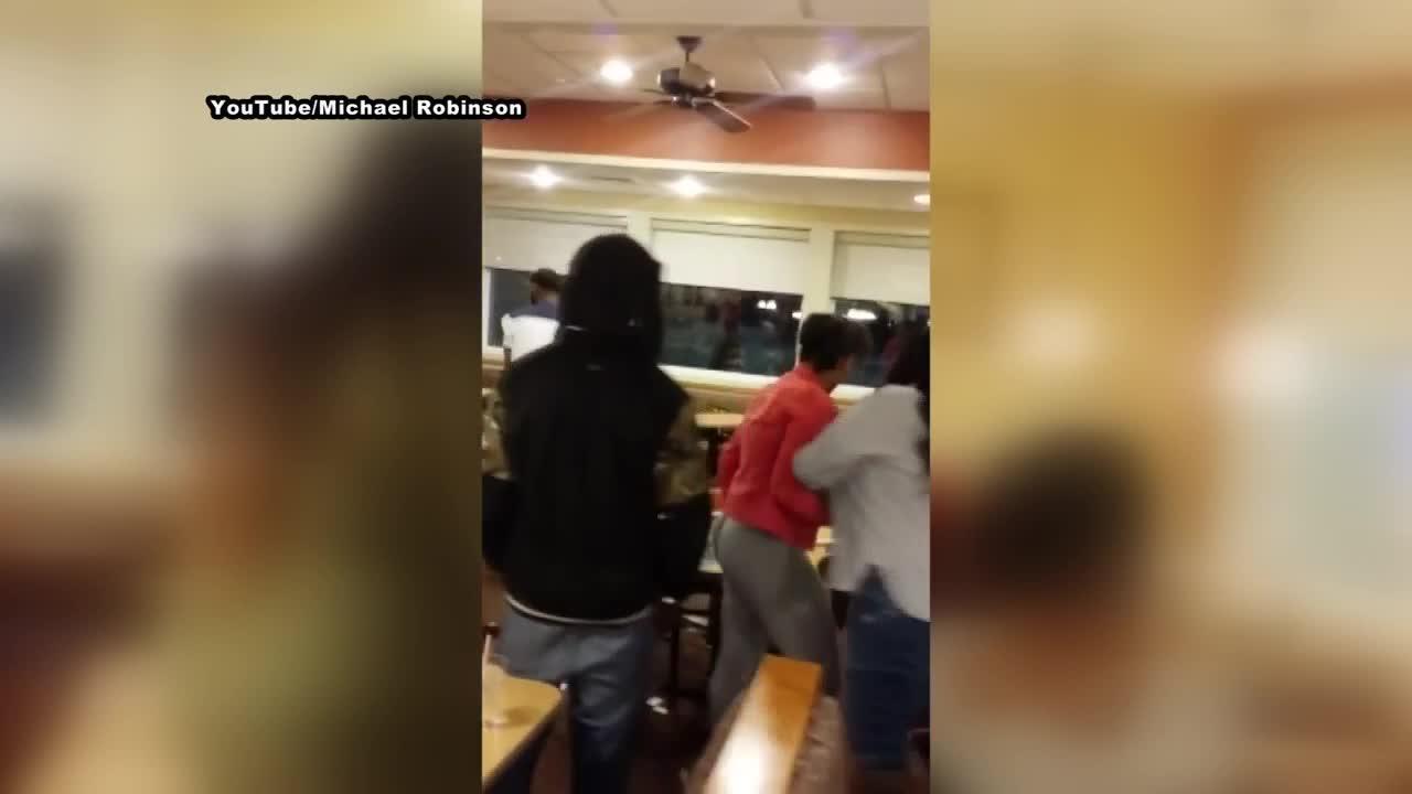 Fight breaks out at Racine IHop Restaurant