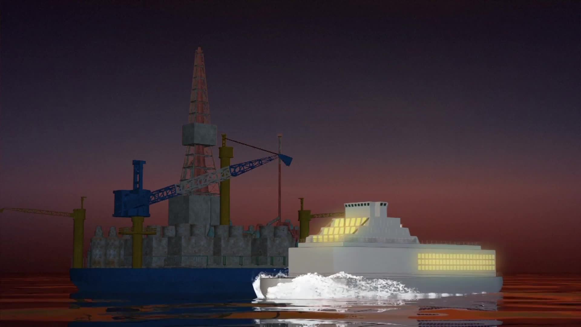 China to build floating nuclear power stations in the South China Sea