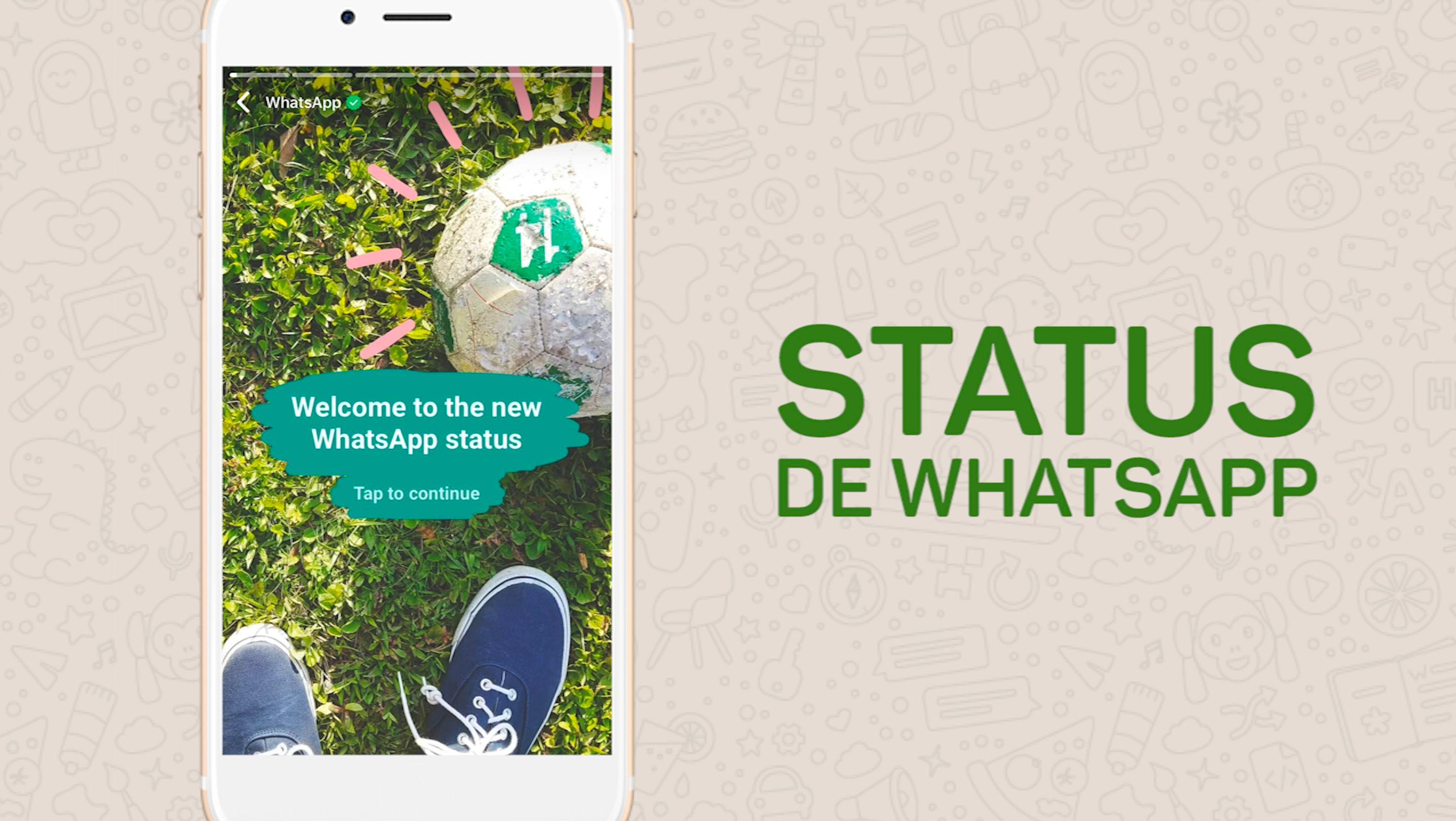 Ahora puedes compartir tu 'Status' en WhatsApp con GIFs, garabatos y 'stickers'