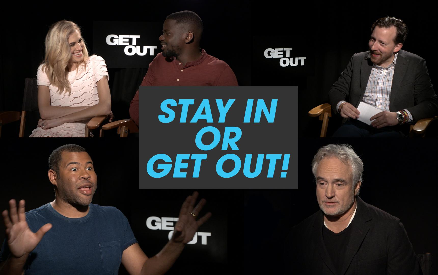 The Cast of 'Get Out' Plays 'Stay in or Get Out?'