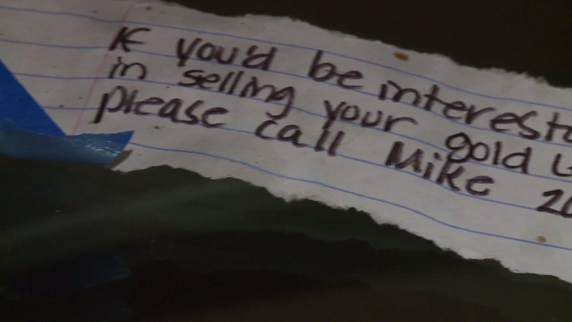 Mysterious Notes Spark Concern in Washington Neighborhood