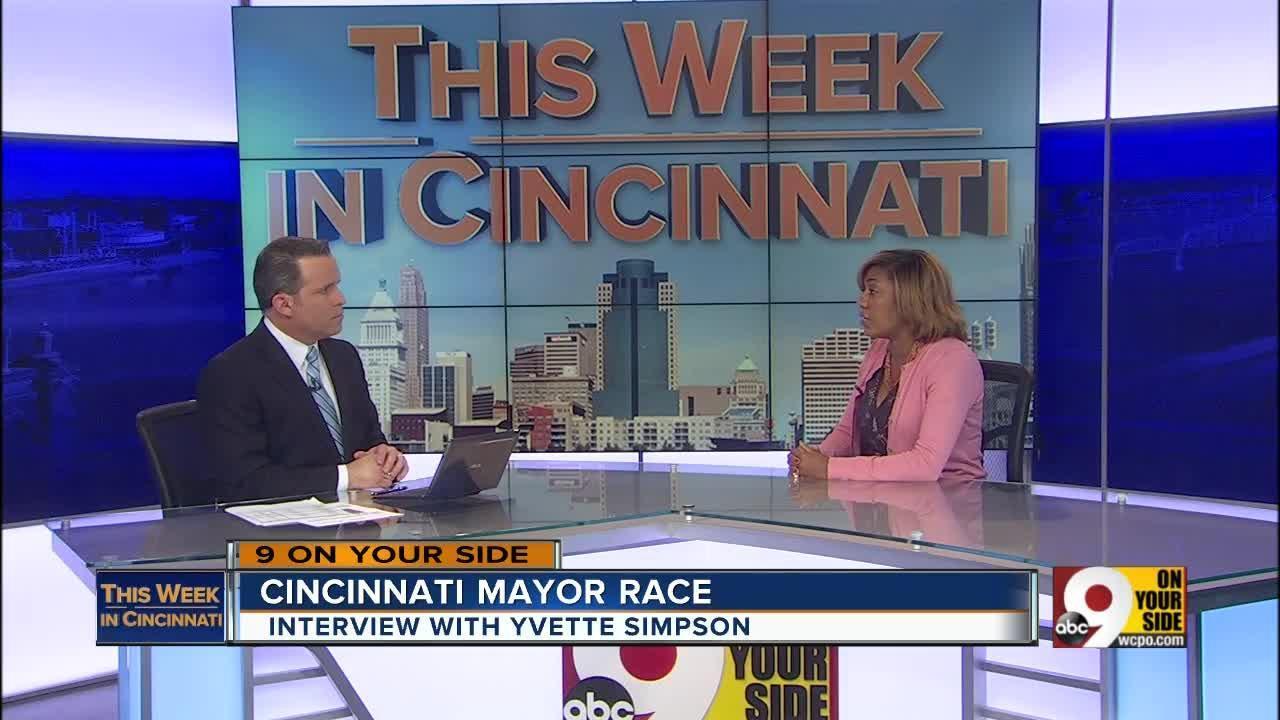 This Week in Cincinnati: Mayoral candidate Yvette Simpson on violent crime, heroin addiction