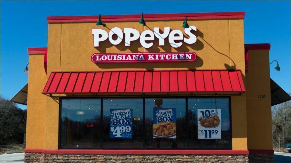 Restaurant Brands International Bids For Popeyes Louisiana Kitchen