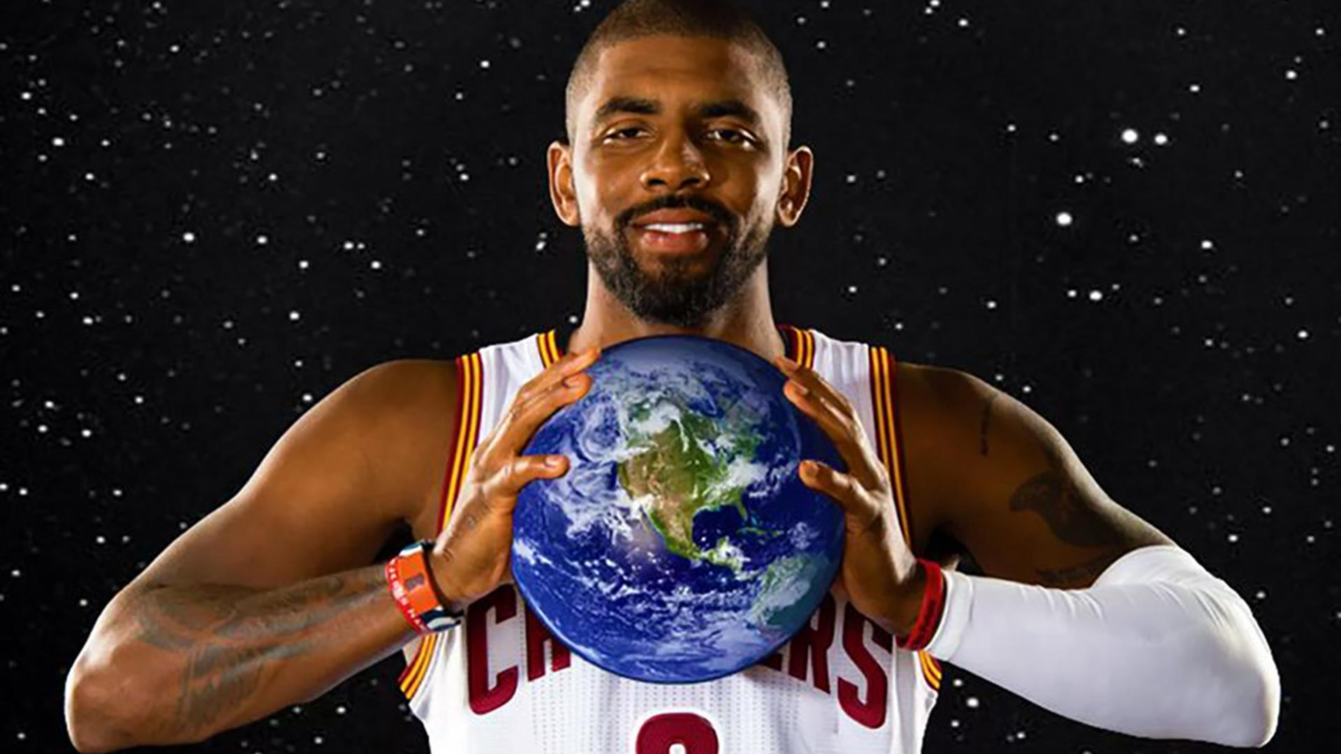 Kyrie Irving Says the Earth is Flat...