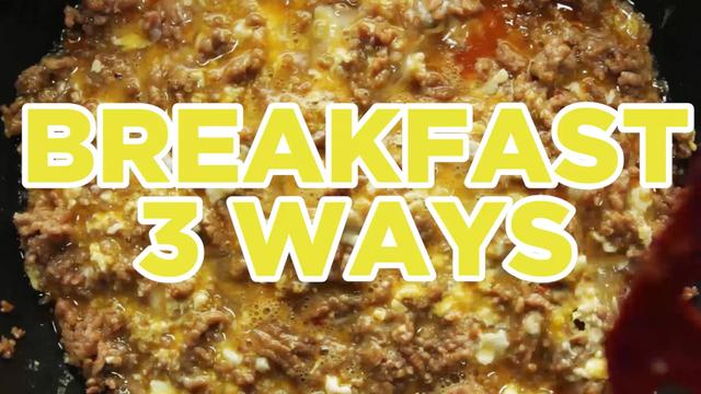 3 Ways to Spice Up Your Breakfast - Full Step-by-Step Video Recipes