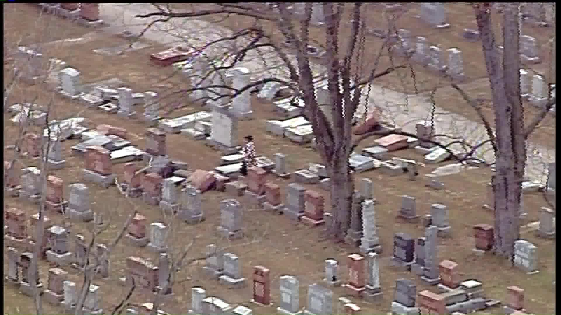 Vandals Damage Dozens of Headstones at Historic Jewish Cemetery