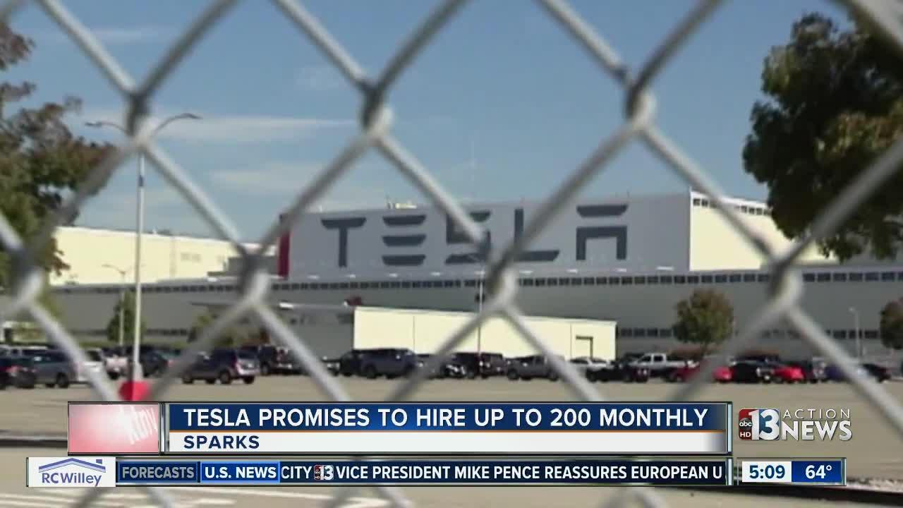 Tesla hiring while Faraday aims to start construction