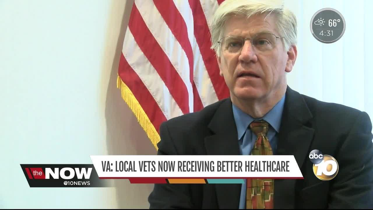The VA says local veterans are now receiving better care