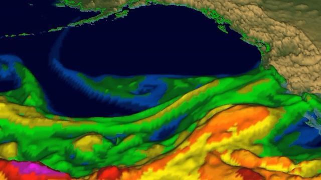 California Storms Draw Attention To 'Atmospheric River' Weather Phenomenon