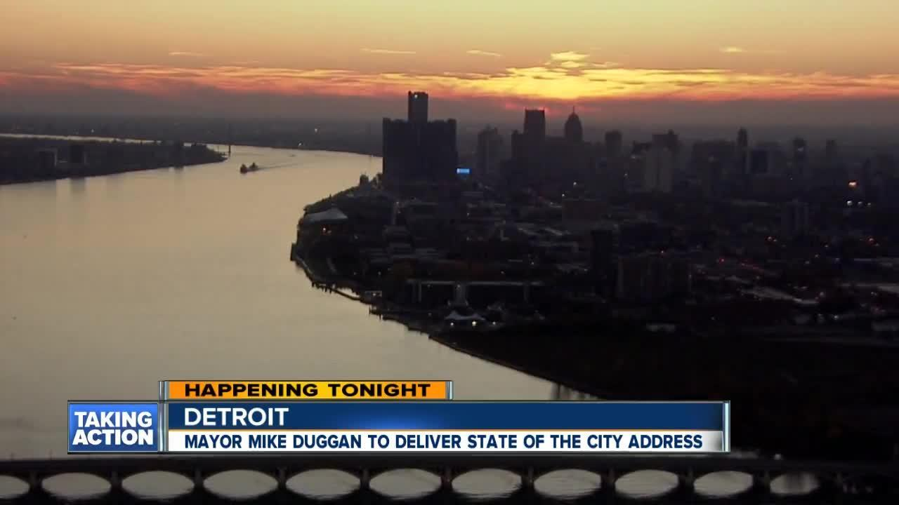 Detroit Mayor Mike Duggan to deliver State of the City tonight