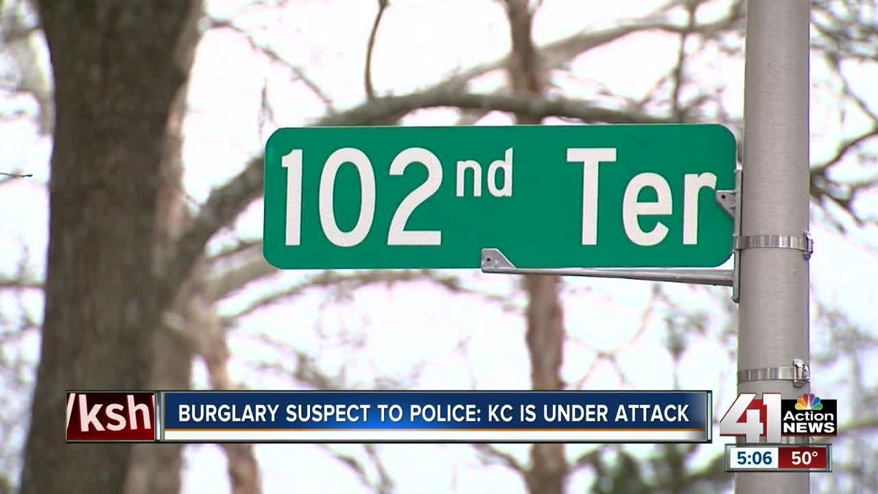 Police: Man breaks into Overland Park home, spends the night & claims 'KC is under attack'