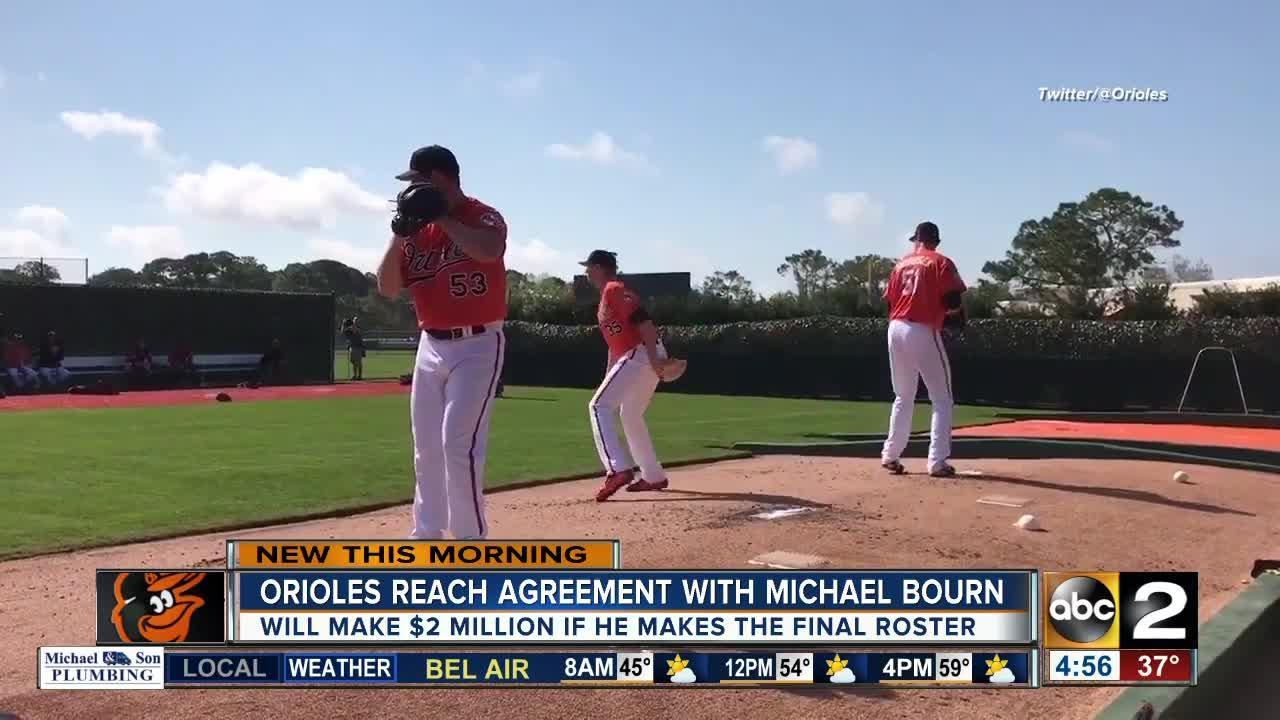 Orioles reach agreement with Bourn