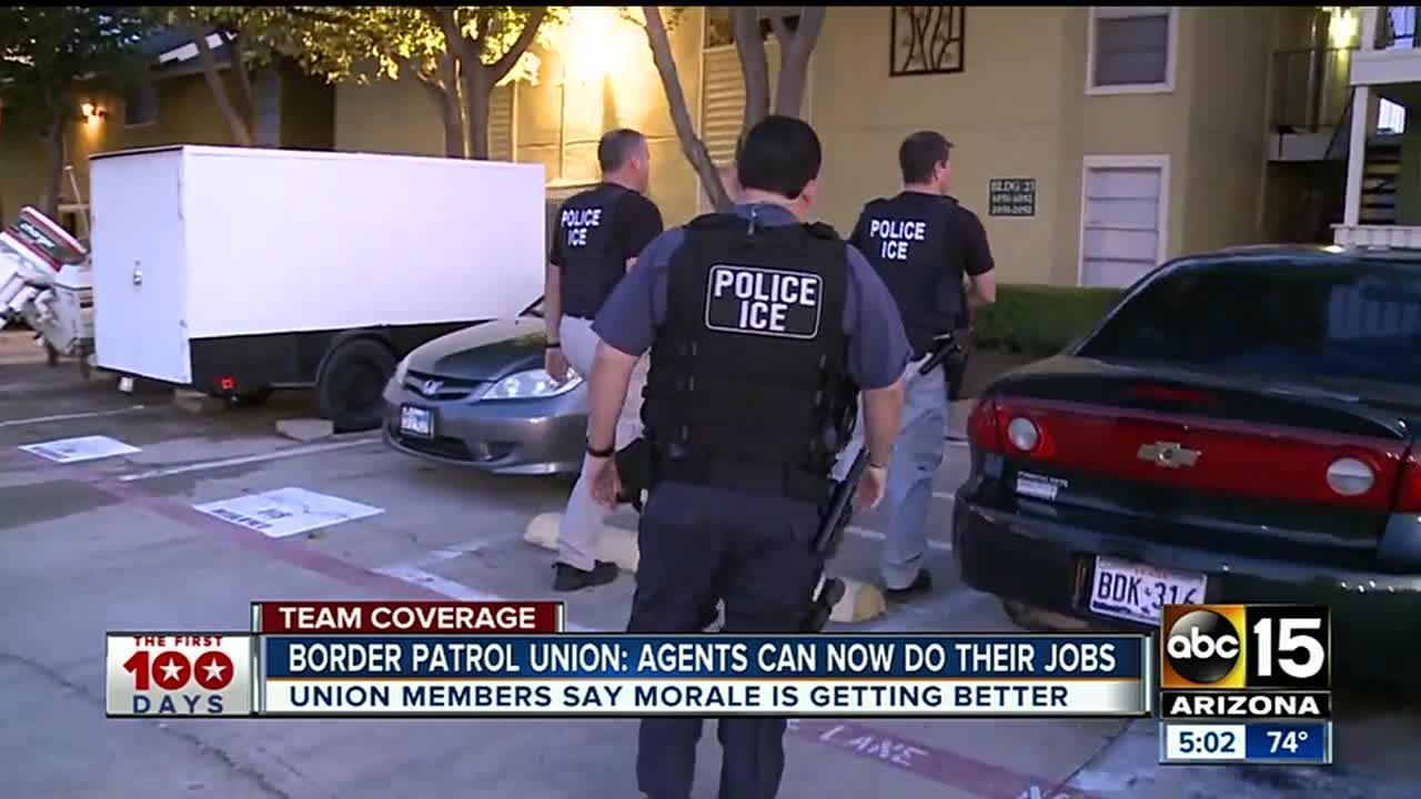 Border Patrol union backs President Trump's immigration orders