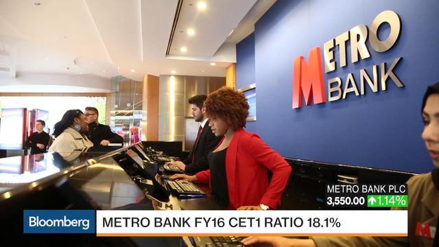 Metro Bank's Hill Says He's Chasing 100% of the Market