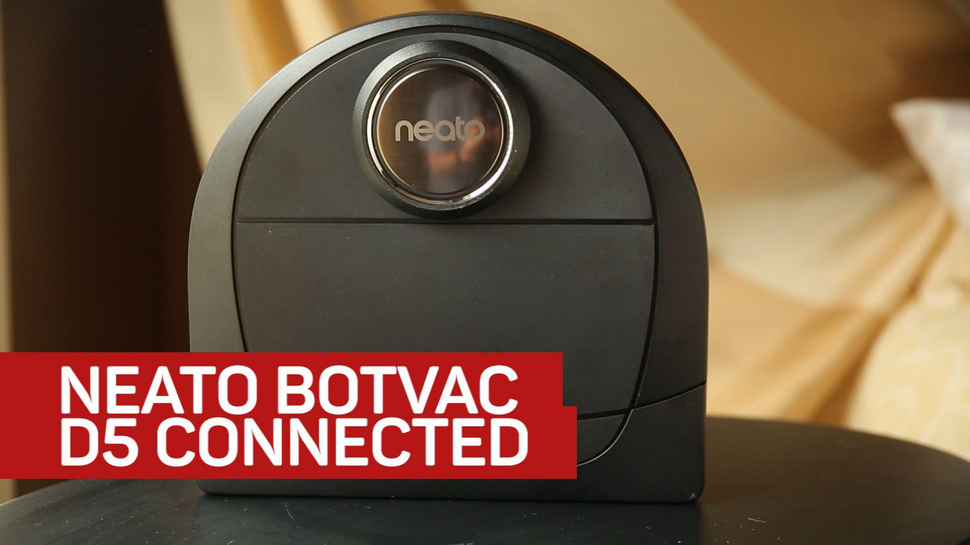 Neato D5 Uses App Smarts to Keep your Floors Clean