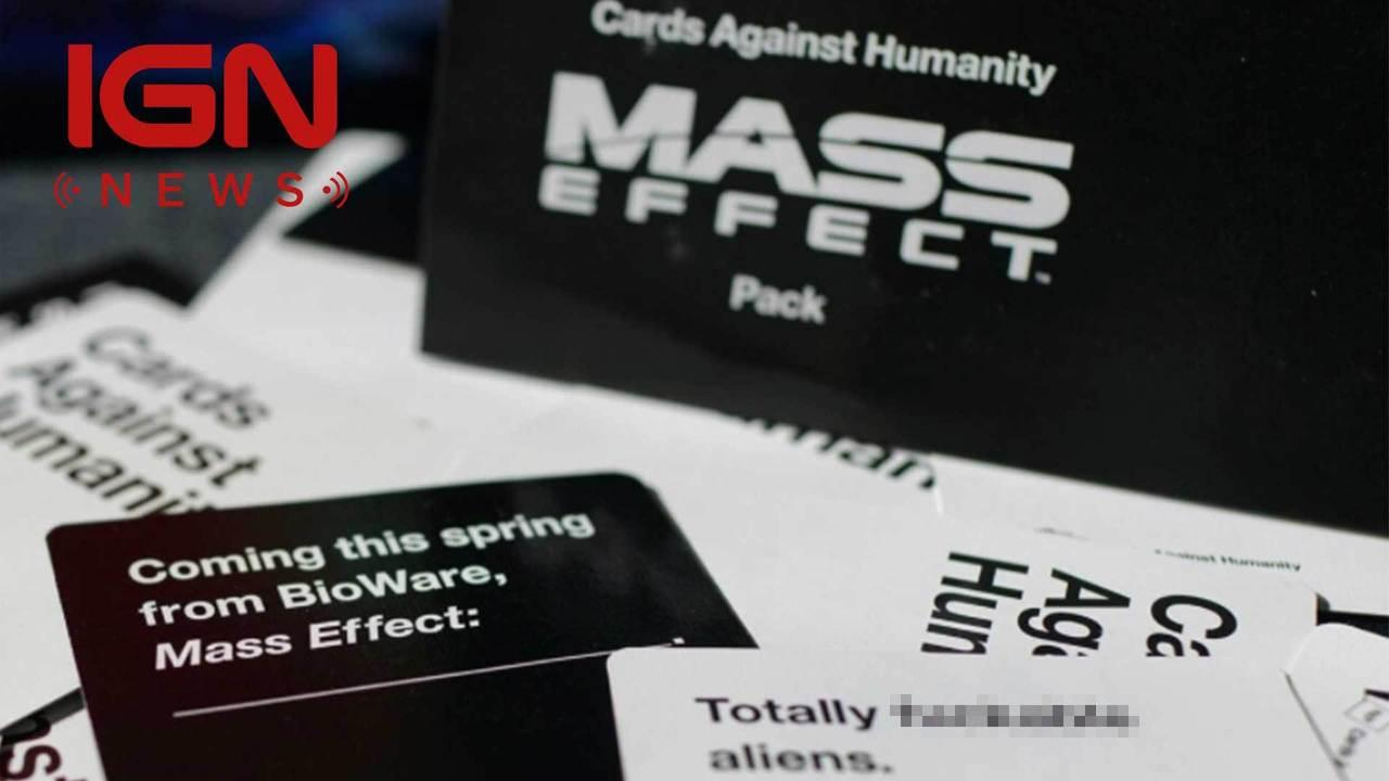 Mass Effect-themed Cards Against Humanity Expansion Now Available