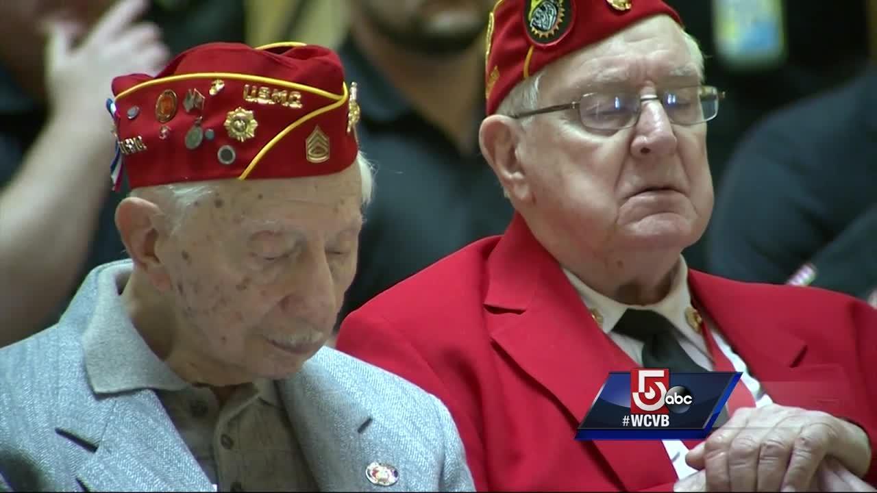 Iwo Jima survivors share their memories
