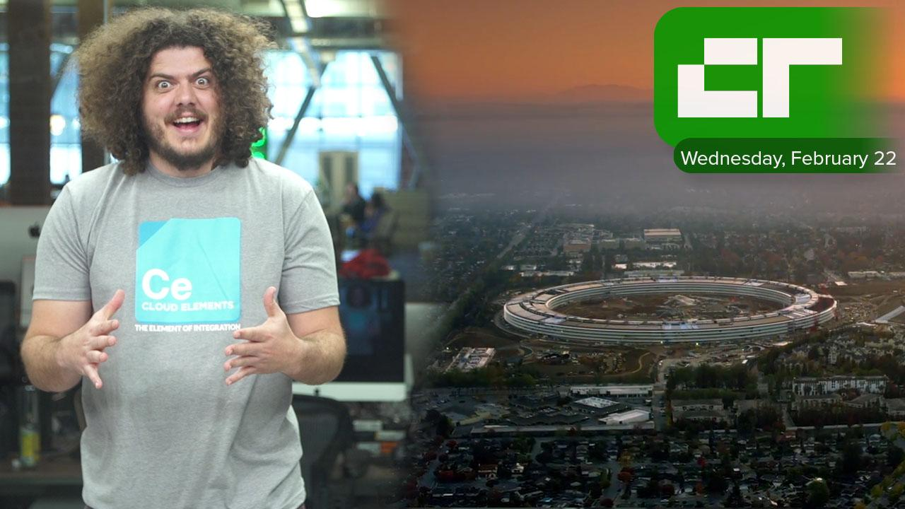 Crunch Report | Apple's New Campus Will Open in April