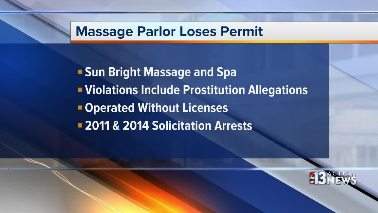 Henderson massage parlor loses business permit