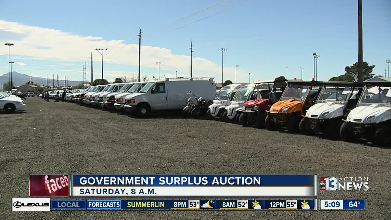 First Clark County auction of 2017 to be held