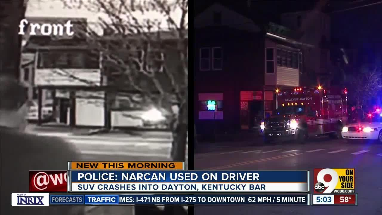 PD: Narcan used on driver in Dayton, Ky.
