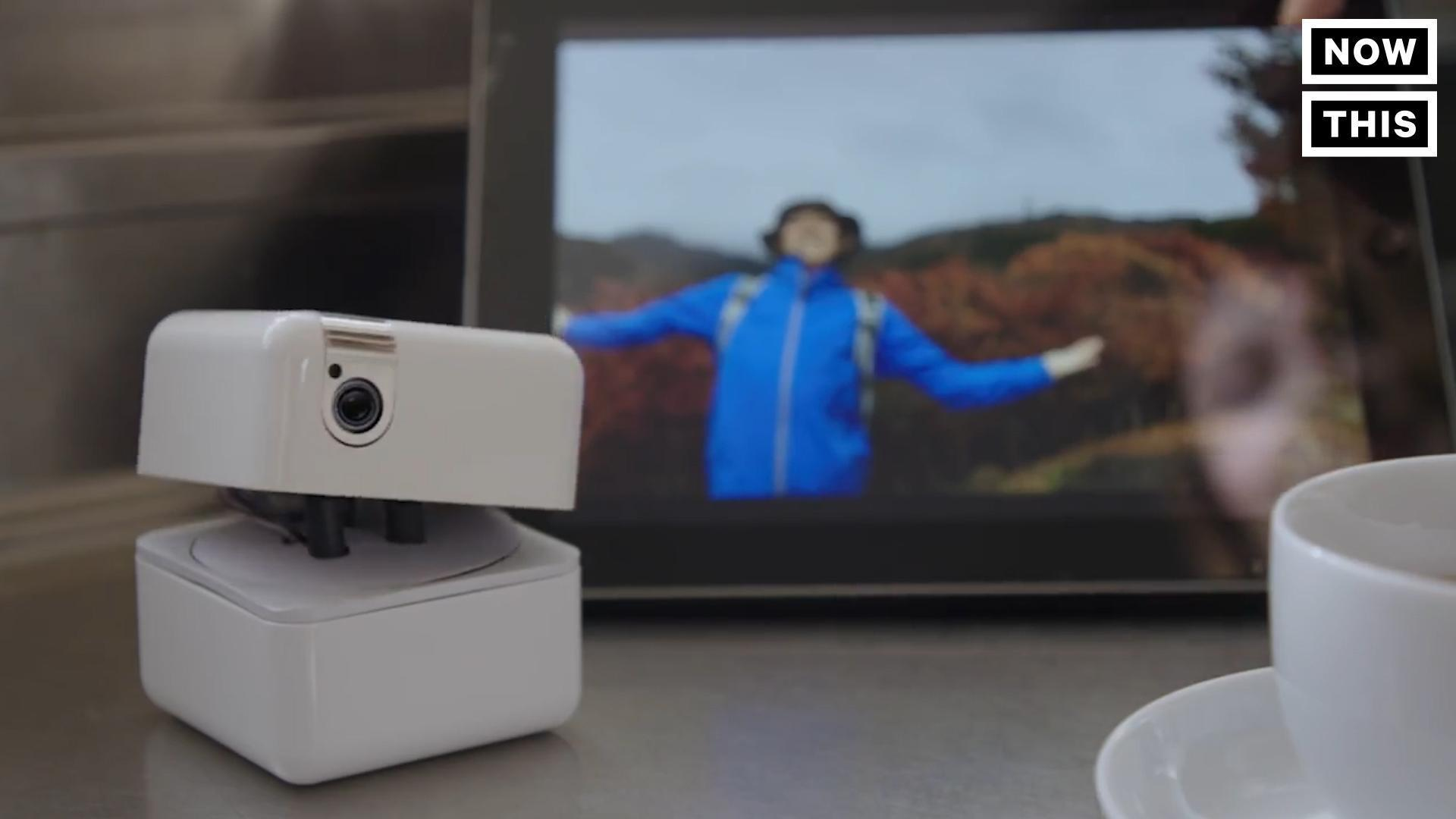 This Cute Animated Cube Is A Personal Assistant And Camera