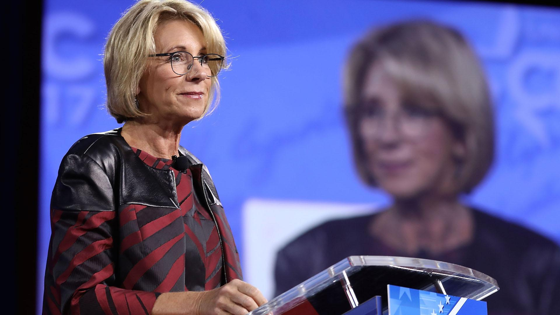 DeVos: 'Media has had its fun with me, and that's okay'