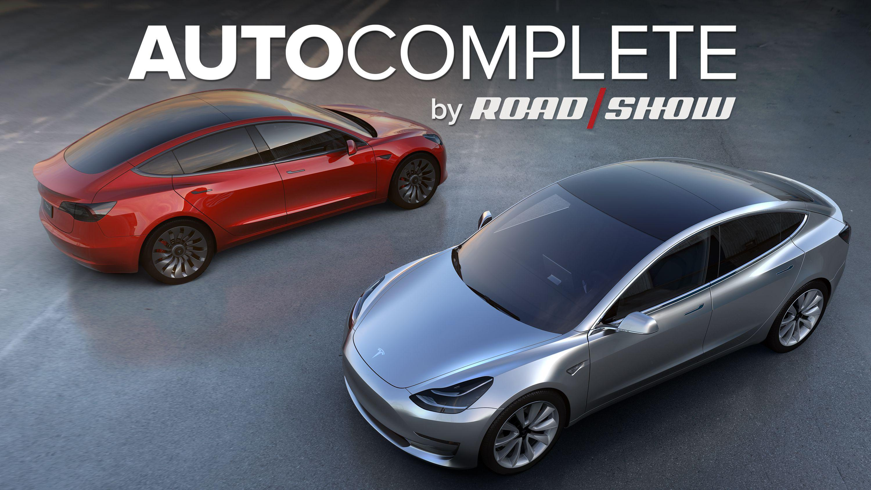 AutoComplete: Tesla says Model 3 on track for July production