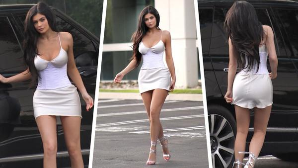 Kylie Jenner: Is That Business Attire Or Lingerie