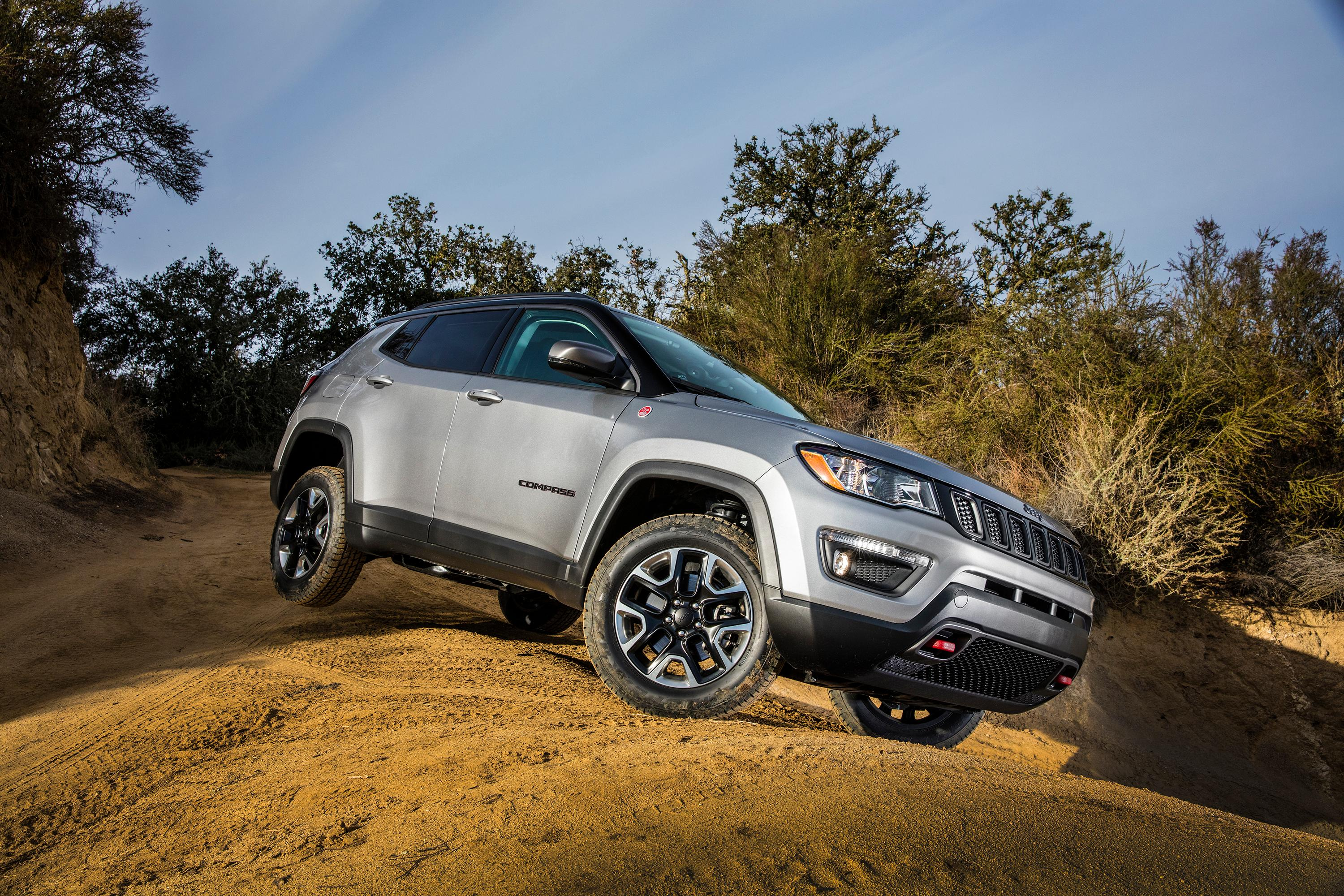2017 Jeep Compass Trailhawk Articulation