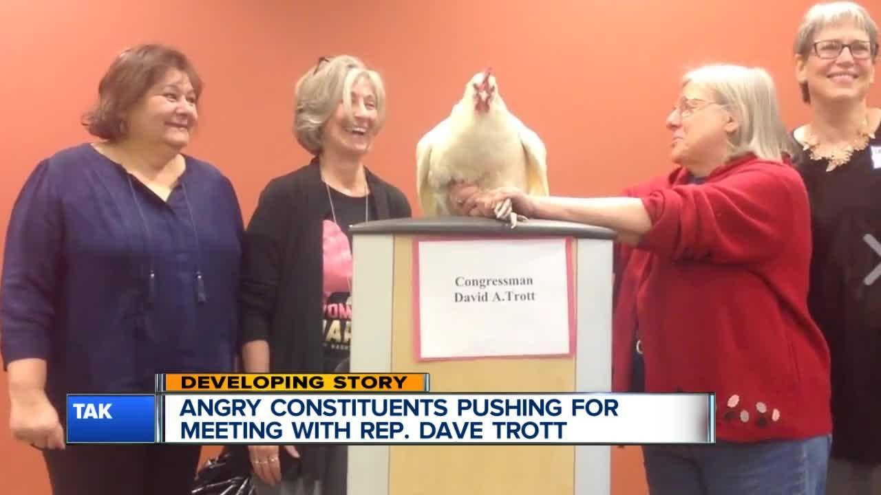 Angry constituents pushing for meeting with Rep. Dave Trott